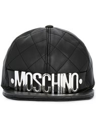 стеганая бейсболка  Moschino