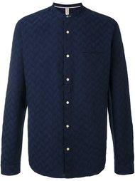 текстурированная рубашка с узором шеврон Dnl
