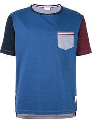 футболка колор-блок  Thom Browne