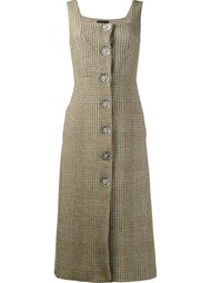 твидовое платье на пуговицах Simone Rocha