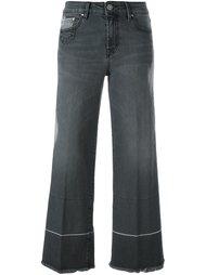 укороченные джинсы кроя буткат Don't Cry