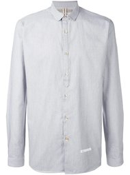 рубашка с геометрическим узором Dnl