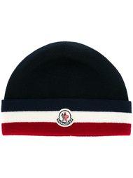 классическая шапка с логотипом Moncler