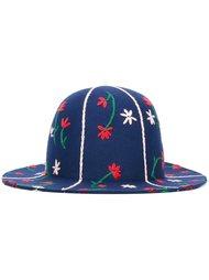 фетровая шляпа с цветочной вышивкой Comme Des Garçons Shirt Boy
