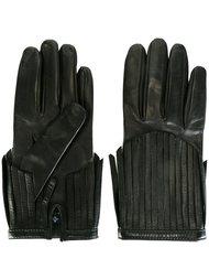 перчатки с бахромой Gala