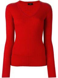 свитер c V-образным вырезом   Joseph