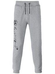 спортивные брюки с принтом скелетов Hydrogen