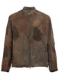 куртка бомбер с вышивкой By Walid