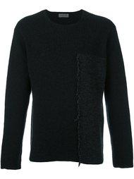 свитер с бахромой Yohji Yamamoto