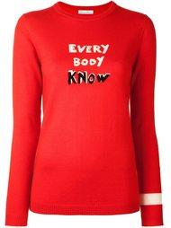 джемпер 'Every Body Know' Bella Freud