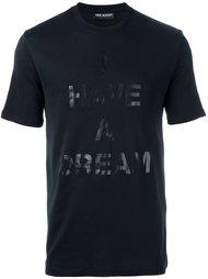 футболка с принтом 'I Have a Dream' Neil Barrett