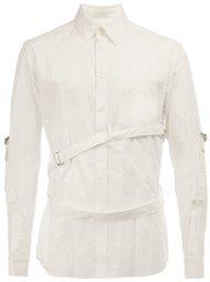 рубашка с ремешками Yohji Yamamoto