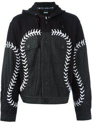 джинсовая куртка 'Baeball'  KTZ