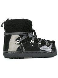 ботинки с меховой отделкой  Mm6 Maison Margiela