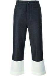 укороченные джинсы  Loewe