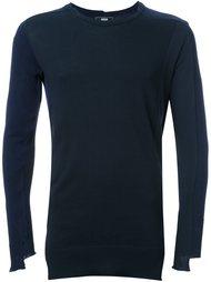 свитер с панельным дизайном  Anrealage