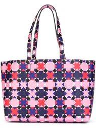 сумка-тоут с геометрическим узором Emilio Pucci