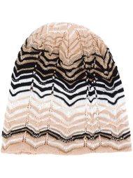 шапка-бини с зигзагообразным узором  Missoni
