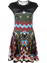 платье с абстрактным принтом 'Pinto'    Mary Katrantzou