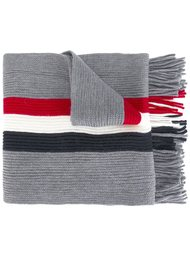полосатый шарф Moncler