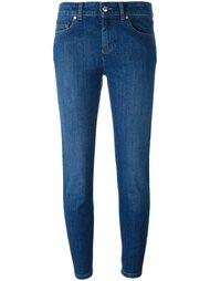 укороченные джинсы  Alexander McQueen