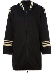 пальто на молнии с капюшоном Neil Barrett
