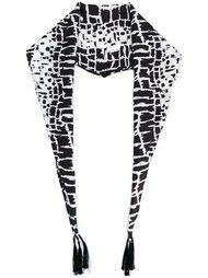 шарф с рисунком Haider Ackermann