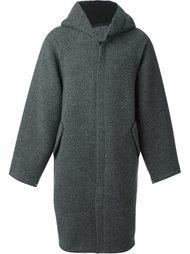 пальто с капюшоном E. Tautz