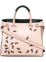 сумка-тоут с принтом муравьев  Giancarlo Petriglia