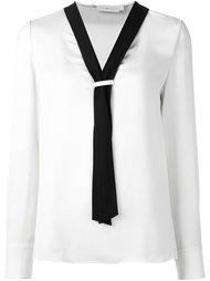 блузка с контрастной окантовкой  Tory Burch