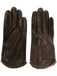 перчатки с декоративной строчкой Gala