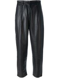 укороченные брюки со складками Federica Tosi