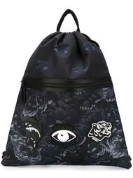 рюкзак со шнуровкой 'Flying Tiger'  Kenzo