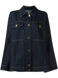 объемная джинсовая куртка Lanvin