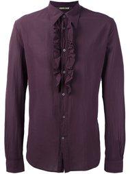 рубашка с оборками  Roberto Cavalli