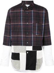 лоскутная рубашка  Comme Des Garçons Shirt