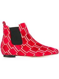 бархатные ботинки Челси Bams