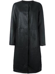 двустороннее пальто Yves Salomon