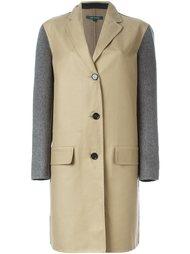 пальто с контрастными рукавами Sofie D'hoore