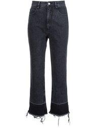 укороченные джинсы с необработанными краями  Rachel Comey