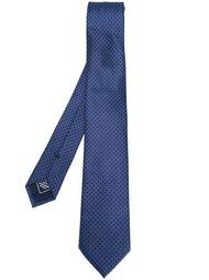 галстук с геометрическим узором Brioni