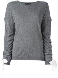 bow detailed sweater Rossella Jardini