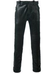 кожаные брюки Belstaff