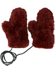 перчатки 'Moffola' Yves Salomon