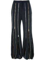брюки с декоративными молниями J.W.Anderson