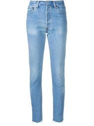 джинсы с завышенной талией Re/Done