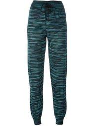 спортивные брюки с принтом M Missoni