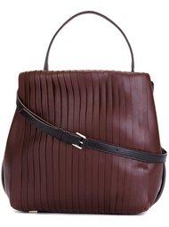 плиссированная сумка-тоут DKNY