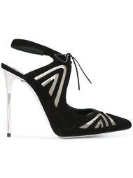 туфли-лодочки на шпильке René Caovilla