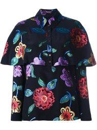 блузка с цветочным рисунком Burberry